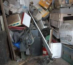 東松山市の平家お片付け大量ゴミ、不用品回収です。