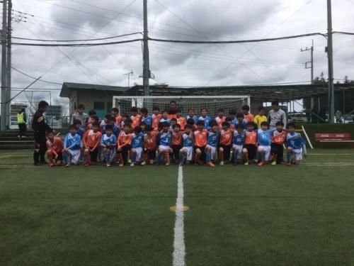 ポルターラ水戸サッカークラブ5 、6年生卒業試合