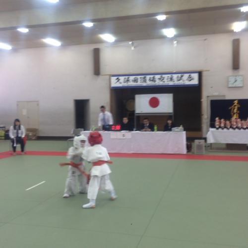 愛知県スポーツ会館にて