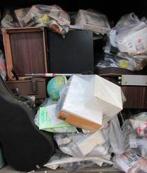一軒家のお部屋、深谷市のお片付け、廃棄、不用品回収。