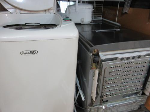 家電品、冷蔵庫、洗濯機など 伊勢崎市の不用品回収。