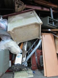 ご新規のお客様、寄居町のお片付け、不用品回収です。