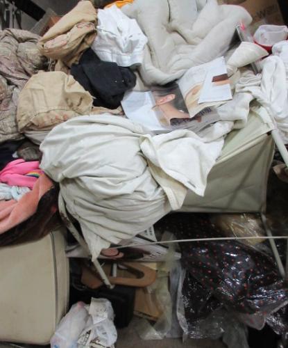 格安便利屋、東松山市、お片付け大量ごみ処分作業です。