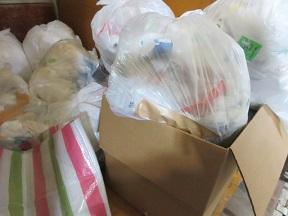 川本、深谷市、花園地域、便利屋不用品回収作業。