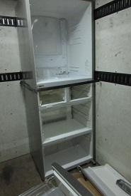 大型冷蔵庫の回収、熊谷市かごはら地域。