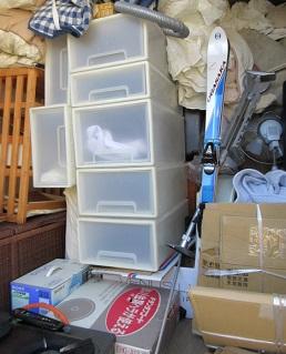 太田市のアパート、大量ゴミ、お片付け作業、便利屋。