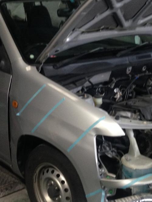 プロボックス事故修理 名古屋 自動車