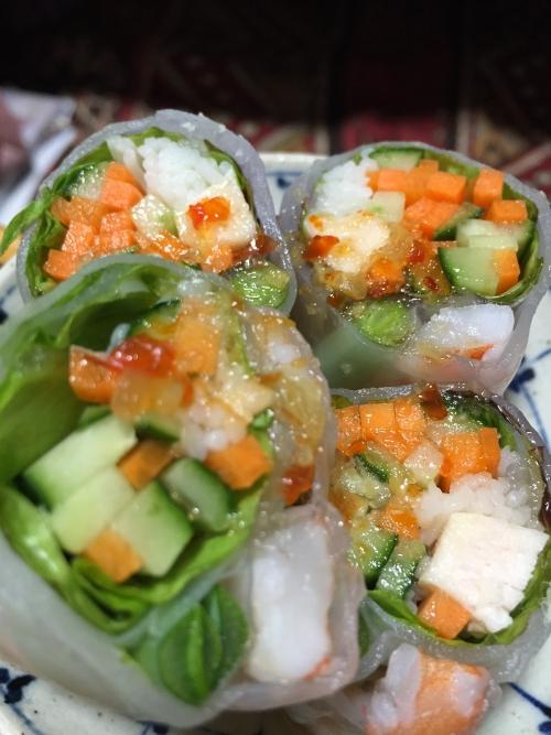 タイ料理 生春巻