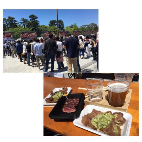 肉フェス(*´ω`*)