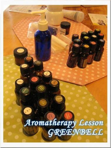 aromaは香りでtherapyは治療という意味