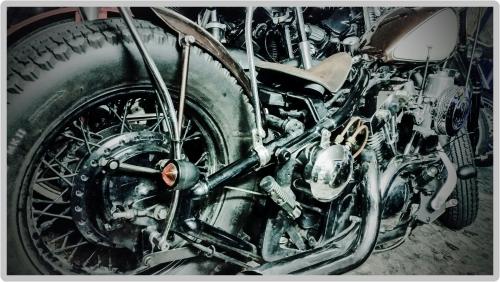 Kawasaki バルカン800の車検点検