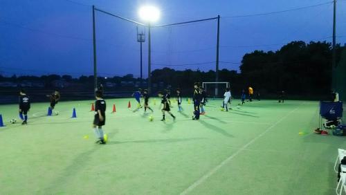 平日サッカースクール活動