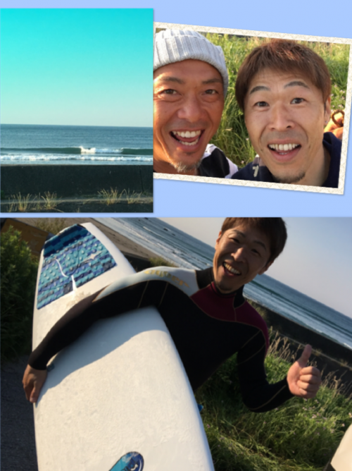 kちゃん15年ぶりにサーフィン復活!(^-^)