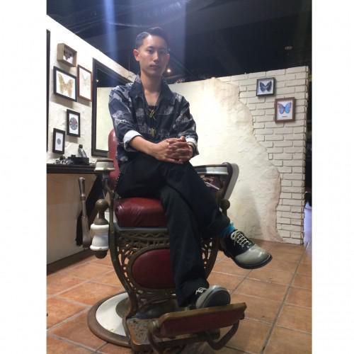 ロカビリー リーゼント barber 床屋