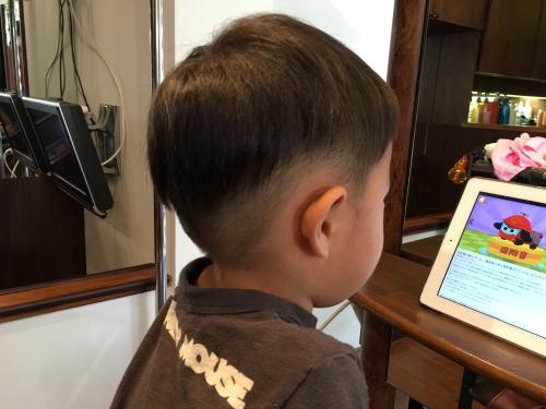 カット 0歳からOK 毛髪筆にも対応します