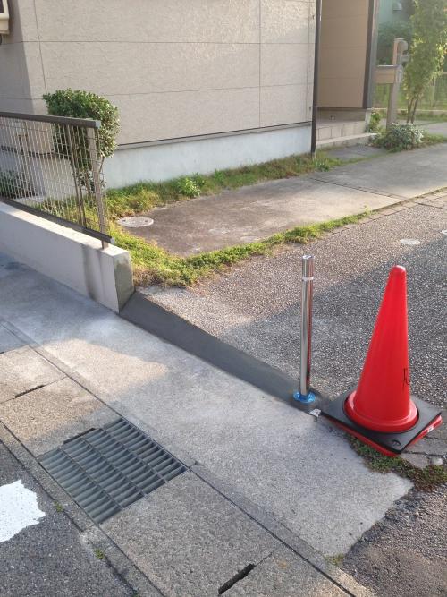 知立市 O様邸 駐車場工事完成