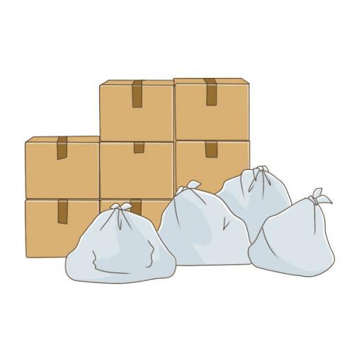 大田区仲六郷にて不用品 ゴミ回収サポート、引越しサポート