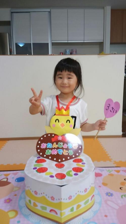 ファミリー託児所 6月のお誕生日