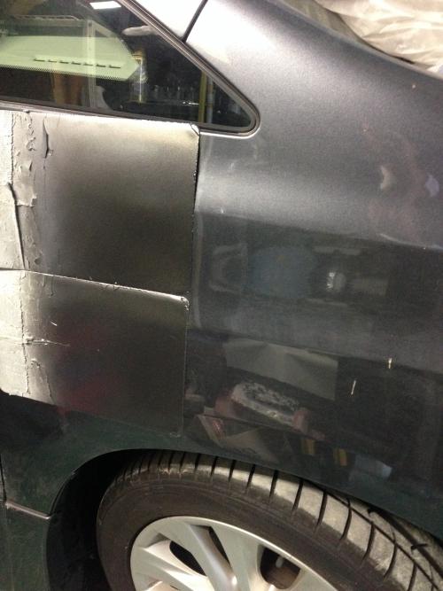 ベルファイア 調色中 名古屋 車修理