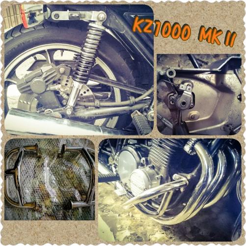 Kawasaki KZ1000部品取り付け