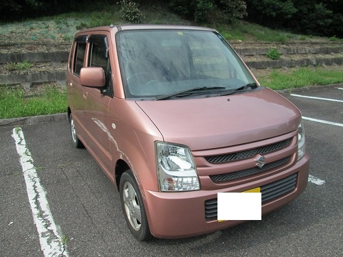 販売車両のお知らせ 19年式ピンク色のワゴンR
