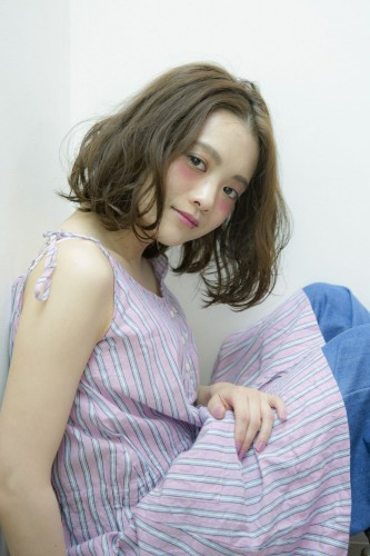 産前・産後の妊婦さんの手入れが簡単なボブスタイル