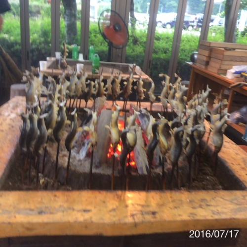 エイコウホーム八幡鮎の塩焼き