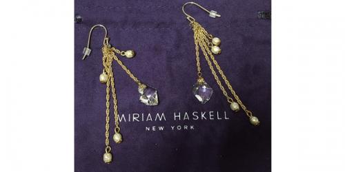 Miriam Haskellのピアス