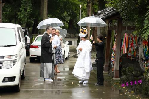 海外在住のカップルへ!浅草で行う神前結婚式がいいね!!