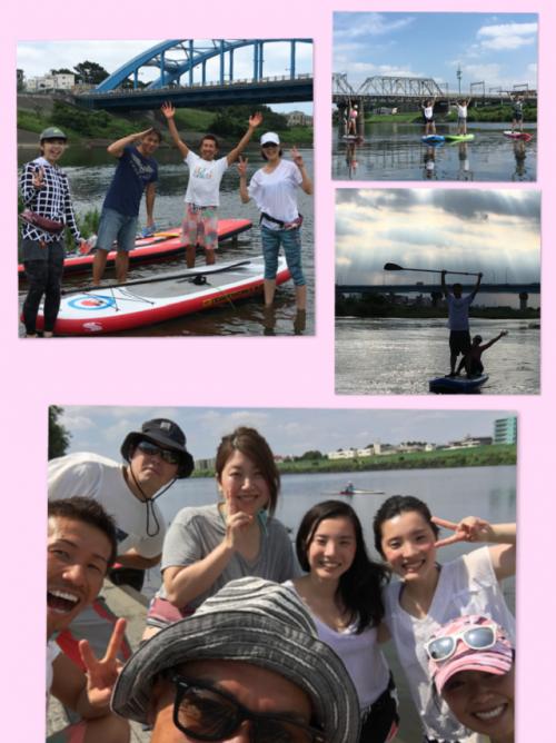 川サップ 多摩川 丸子橋 体験ツアー