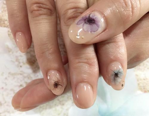 浴衣nail