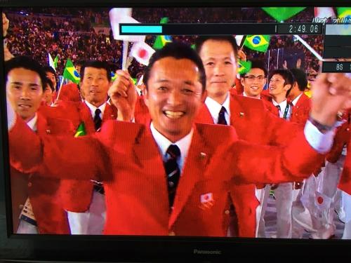 リオオリンピック開会式