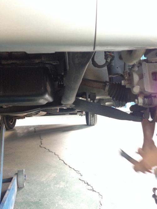 ワゴンR ドライブシャフトブーツ交換。