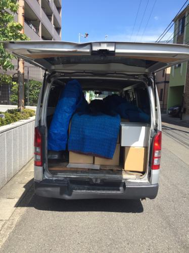 神奈川県にて家具や家電の安心安価お引越しサポート