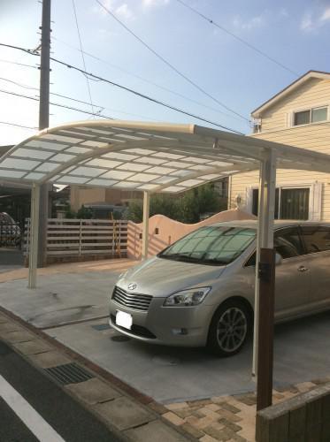 I邸 ガーデンリメイク工事 at誉田町