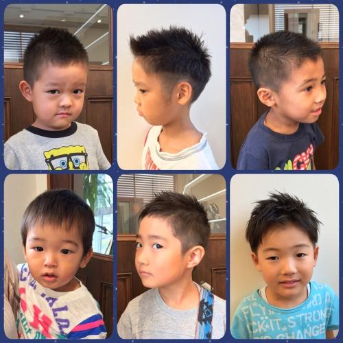 キッズカット 男の子 髪型 ショートカット 短髪