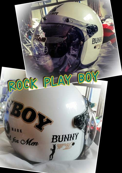 ヘルメット★ROCK PLAY BOY
