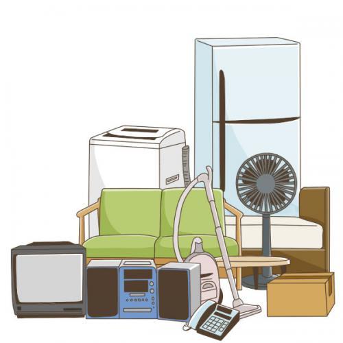 東京都、足立区の不用品/粗大ゴミ、格安回収サポート