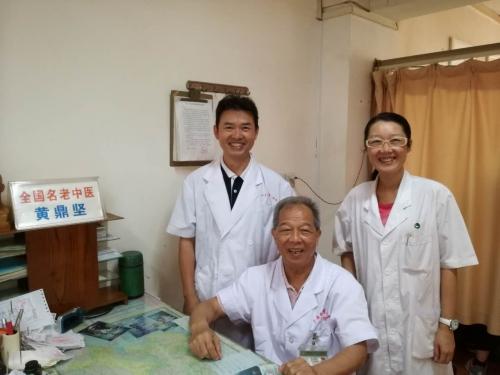 8月中国中医病院の参観と勉強の旅一3