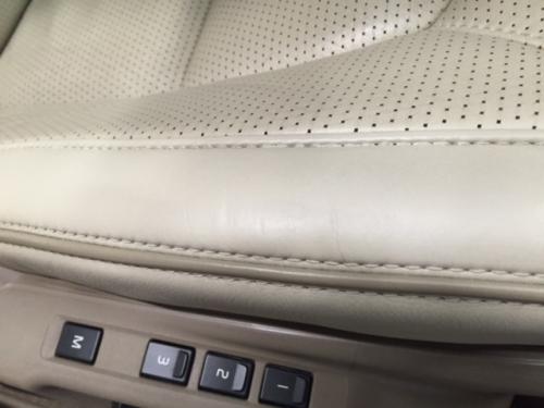 レザーシート劣化修理