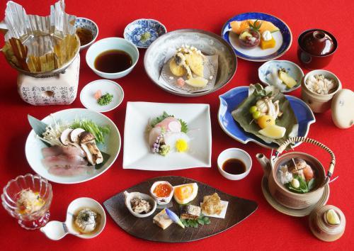 期間限定季節のコース「松茸御膳」のご案内