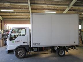 2トントラック不用品かたづけ。