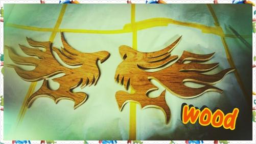 woodでリアルウィルマーク