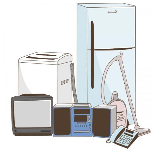 冷蔵庫、洗濯機、日用品、PC、家具家電お引越しサポート