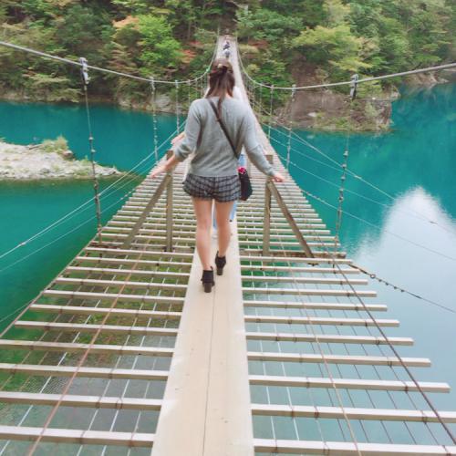 寸又峡~夢の吊り橋~