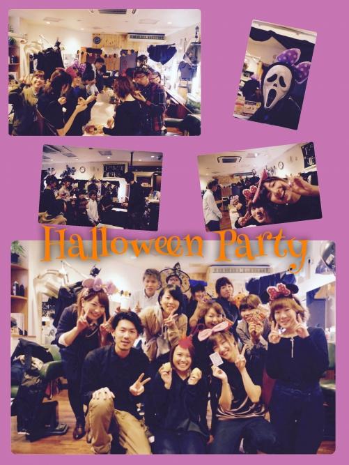 ハロウィーンパーティ!