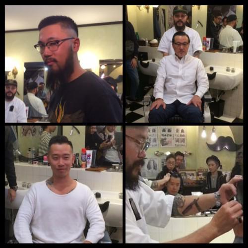 新潟 barber カットセミナー