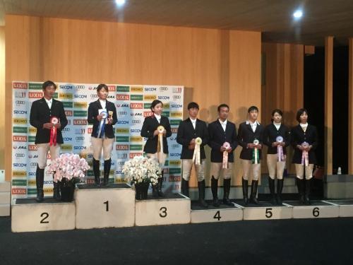 全日本馬場馬術大会1日目結果