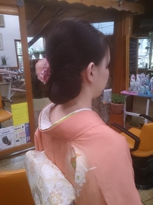 着物の時のヘアアレンジ♪☆