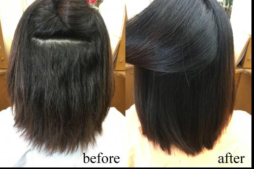 クリニカル酸性縮毛矯正
